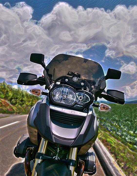 The Door into Summer. @GS/wall @Motorrad/tag 2011/6/21_20:17